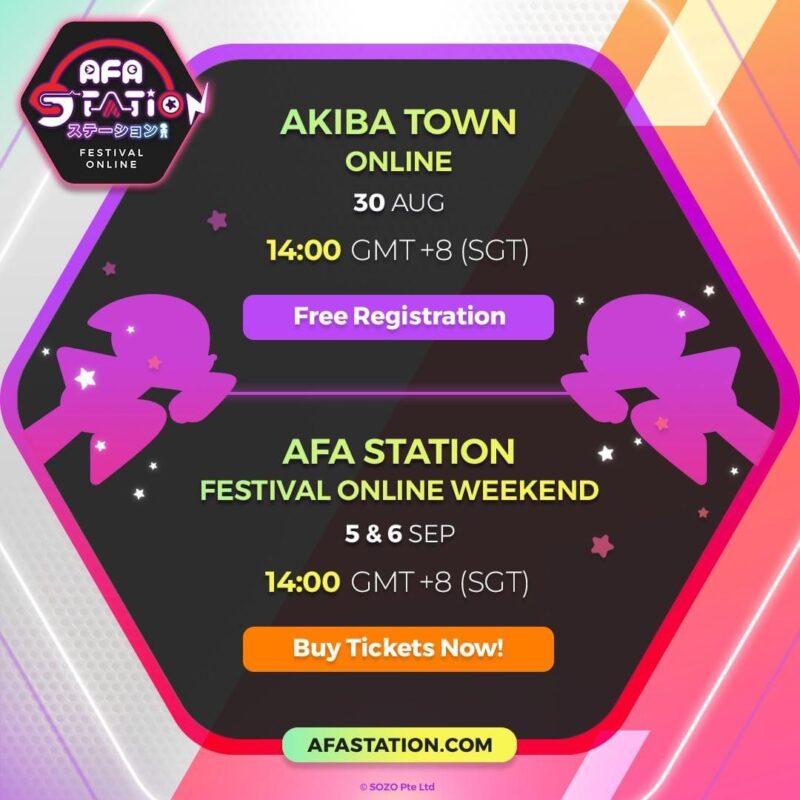 Line Up AFA Station Festival Online Week