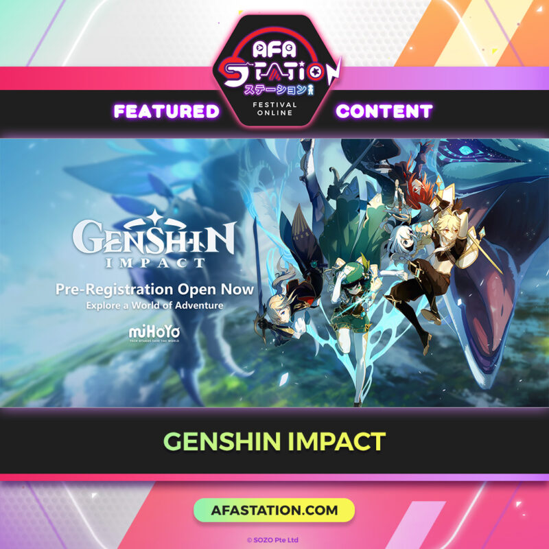 Genshin Effect at Efa Station
