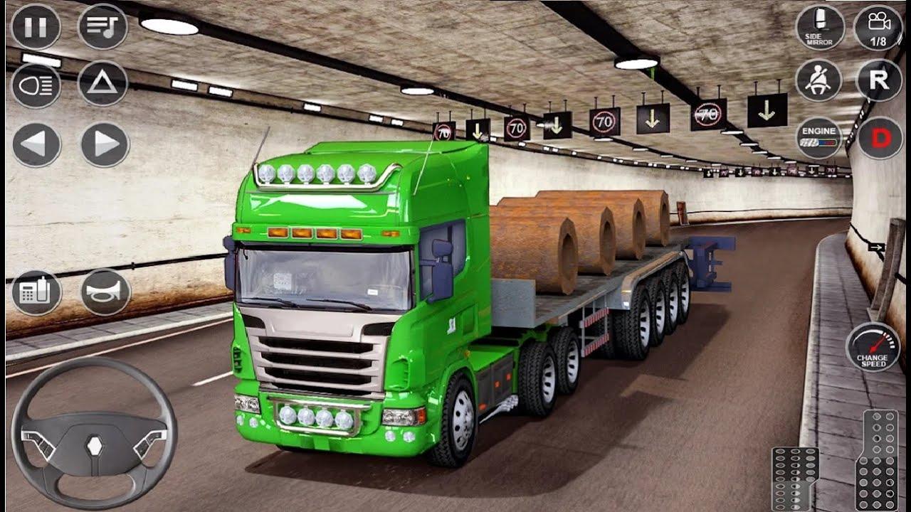 Euro Truck Driving Simulator 3D Free Game APK Download